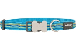 Turquoise Dreamstream - Dog Collars, Leads, and Harnesses