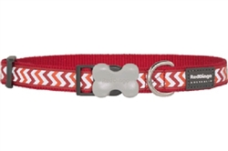 Red Reflective Ziggy Collars, Leads, and Harnesses