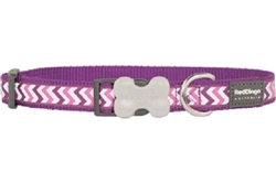 Purple Reflective Ziggy Collars, Leads, and Harnesses