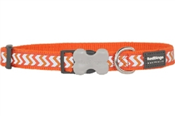 Orange Reflective Ziggy Collars, Leads, and Harnesses