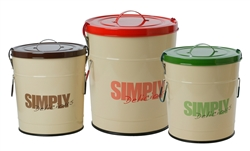 """Simply Delicious"" Food Storage Container"