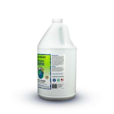 earthbath® Shed Control Shampoo, Green Tea & Awapuhi with Organic Fair Trade Shea Butter, Helps Relieve Shedding & Dander, Made in USA, 128 oz