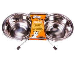 Double Diner Pet Dishes by GoGo®