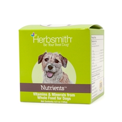 Nutrients - Superfood Dog Food Topper - Vitamins & Minerals from Whole Foods