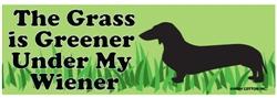 Grass is Greener Bumper Magnets