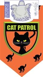 Dog Bandana Cat Patrol  (2 PACK)