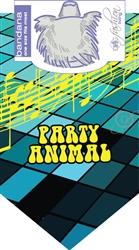 Dog Bandana Party Animal by Dog Fashion Living  (2 PACK)