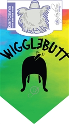 WiggleButt Bandana by Dog Fashion Living (2 PACK)