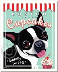 Boston Brand Cupcakes-(Boston Terrier)
