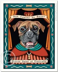 Boxer - Patron St. of Fisticuffs-(Boxer)