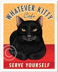Whatever Kitty (Cat Black)