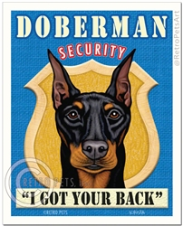 Doberman Security-(Doberman Pinscher)