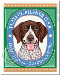 Playful Pilsner-(German Pointerr )
