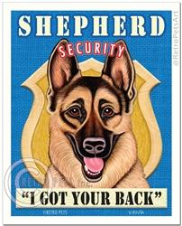 Shepherd Security-(German Shepherd)