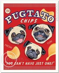 Pugtato Chips-(Pug, fawn)
