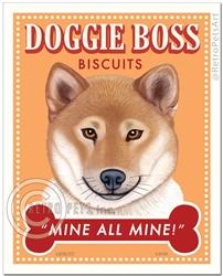 Doggie Boss-(Shiba Inu)