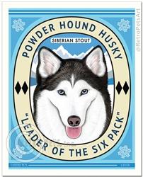 Powder Hound Husky-(Siberian Husky)
