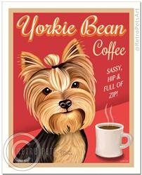 Yorkie Bean Coffee-(Yorkshire Terrier )