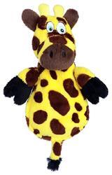 Hear Doggy -  Flats Yellow Giraffe with Chew Guard