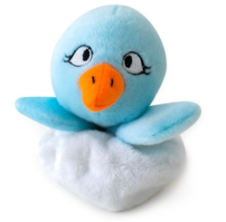 Hatchables Blue Bird Dog Toy