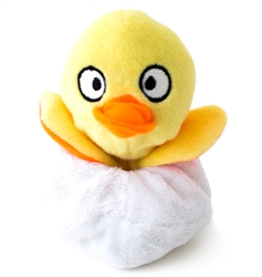 Hatchables Yellow Duck Dog Toy