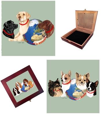 Dog World Memento Box