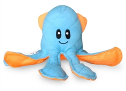 Ocean Buddies Blue Squid Dog Toy