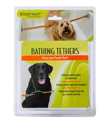 Rinse Ace Pet Bathing Tethers with 2 Straps