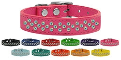 Sprinkles AB Crystal Leather Collar