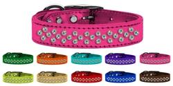 Sprinkles AB Crystal Leather Collar