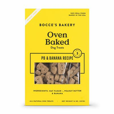 LIMITED INGREDIENT PB AND BANANA BISCUITS (14OZ)