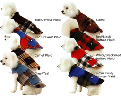 Double Fleece Dog Coat w/o Pockets