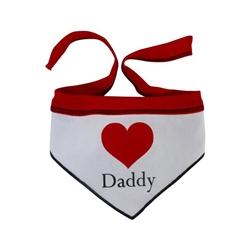 Heart Daddy Scarf