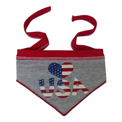 Heart USA Scarf