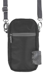 Cross Body - Black, 1 Refill Gray/Unscented