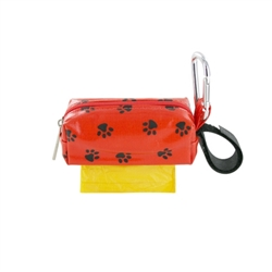 Single SQ Duffel w/ 1 Refill Roll - Orange Paw / Yellow