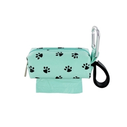 Single SQ Duffel w/ 1 Refill Roll - Seafoam Dot / Gray