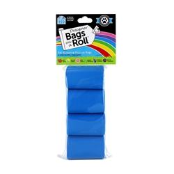 Designer Refill Bags - Blue/Baby Powder - 8 Rolls