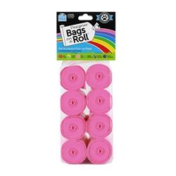 Designer Refill Bags - Pink/Citrus - 8 Rolls