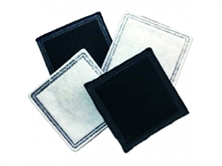 Current Fountain Replacement Single Cell Carbon Filter in PDQ Tray - 4-Pack