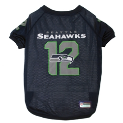 NFL Seatlle Seahawks - 12th Man Dog Jersey