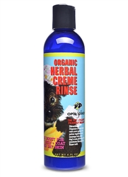 Organic Herbal Creme Rinse Conditioner - 8oz
