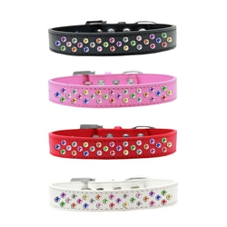 Sprinkles Confetti Crystals Dog Collar