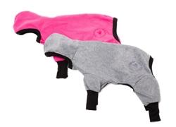 Track Suit in Hot Pink, Gray & Orange