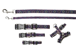 Collars, Harnesses & Leads San Marco Purple