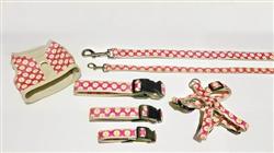 Collars, Harnesses & Leads | Pink Follard