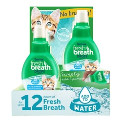Fresh Breath Drops for Cats - 6 pc Display