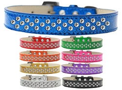 Sprinkles Ice Cream Clear Crystals Dog Collar