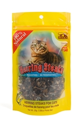 Snack 21 - Herring Steaks for Cats (25g) Bag