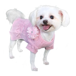 Cassidy Sweater Dress - Pink